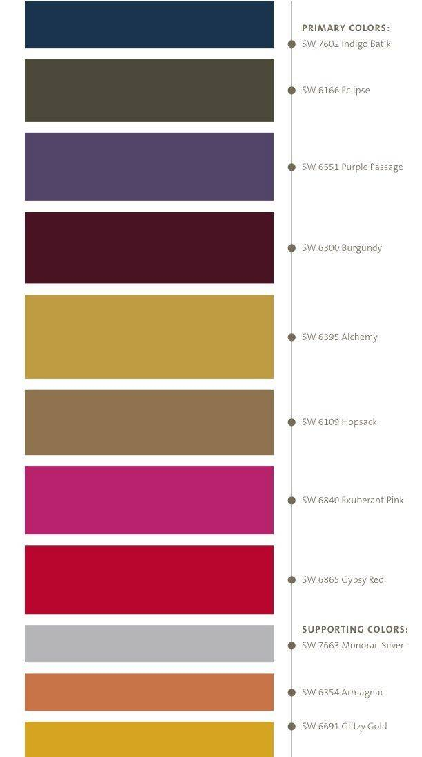 Moroccan Color Scheme Colour Inspiration Pinterest