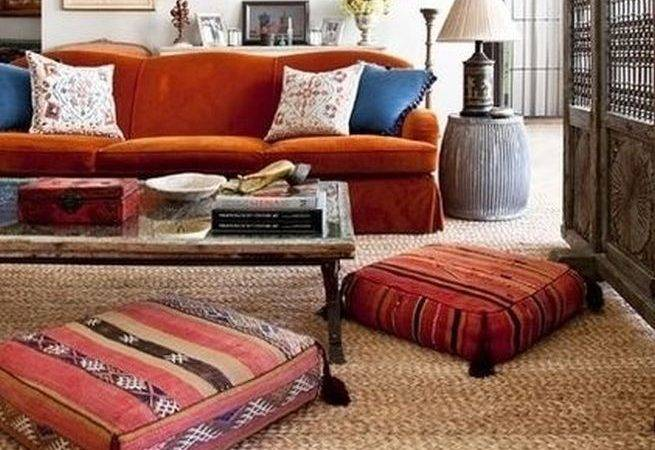 Moroccan Floor Cushions Living Room Set Except Maybe More Pillows