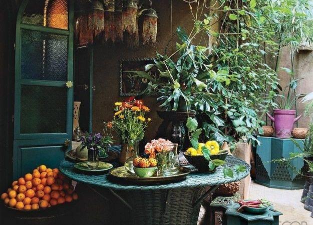 Moroccan Garden Bounty Bohemian Lifestyle Pinterest