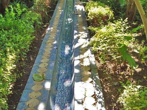Moroccan Garden Islamic Middle Eastern Gardens Pinterest