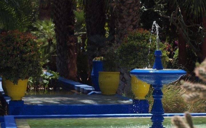 Moroccan Garden Morocco Pinterest