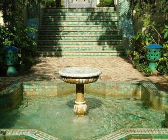 Moroccan Gardens Days Fashion Pinterest