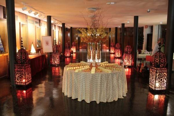 Moroccan Middle Eastern Theme Bat Mitzvah Party Mazelmoments