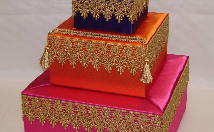 Moroccan Theme Card Box Any Color Scheme