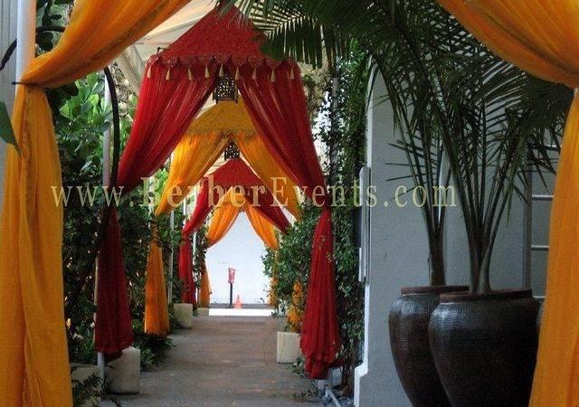 Moroccan Theme Draped Entrance Moroccon Themed Wedding Pinterest