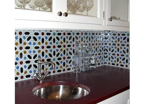 Moroccan Tile Backsplash Tamara