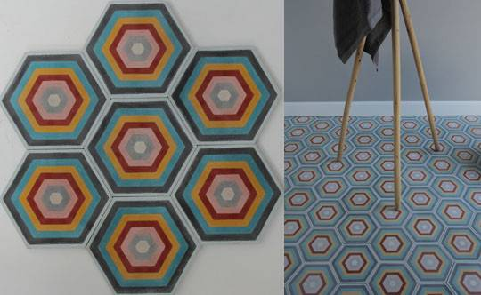 Moroccan Touch Cement Tiles Such Their Hex Target Cabana