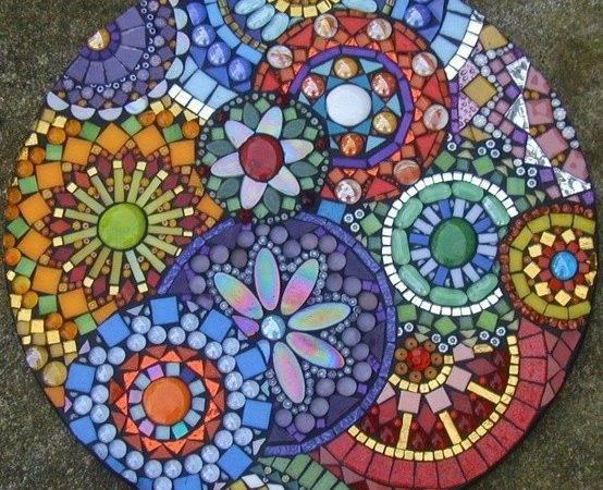Mosaics Step Stones Ideas Art Mosaic Stepping Stone