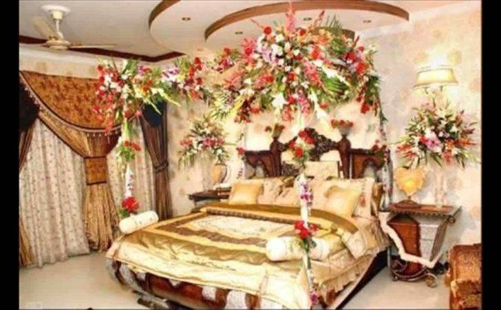 Most Beautiful First Night Wedding Bedroom Decoration Ideas White