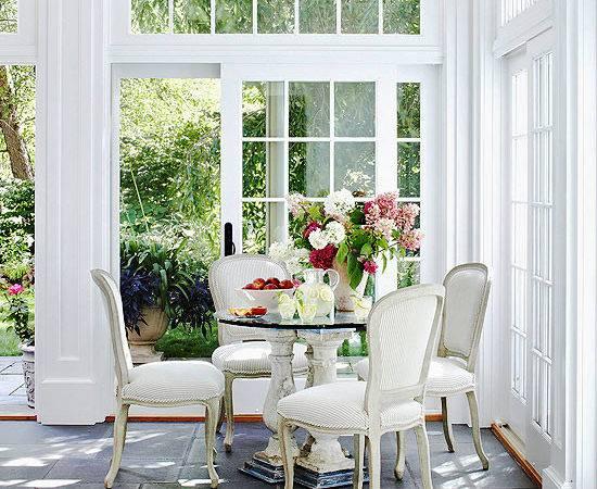 Most Elegant Sunroom Furniture Designs