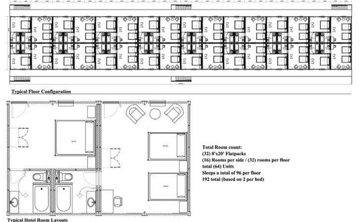 Motel Style Plan Floor Plans Pinterest Room