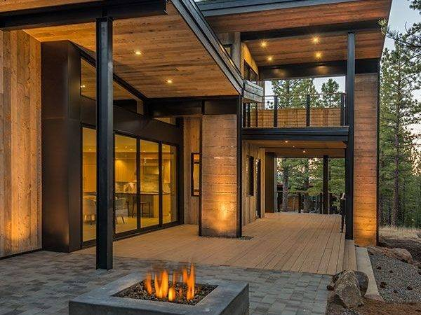 Mountain House Modern Rustic Styled