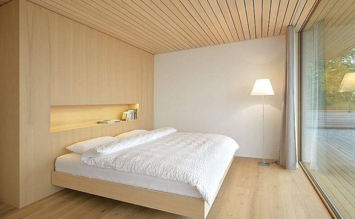Mountain Views Wood Clad Interior Shape Modern Swiss Home