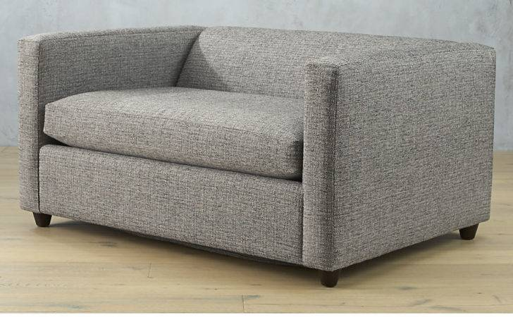 Movie Salt Pepper Twin Sleeper Sofa