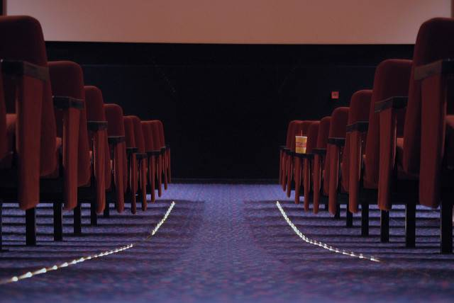 Movie Theater Floor Lights Cinema