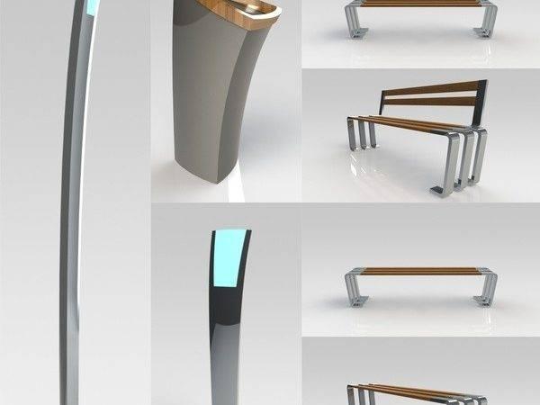 Mrail Urban Furniture Industrial Design Aleop Tur Via Behance