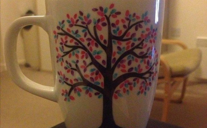 Mug Designs Ideas Sharpie Mugs Diy Cup Design