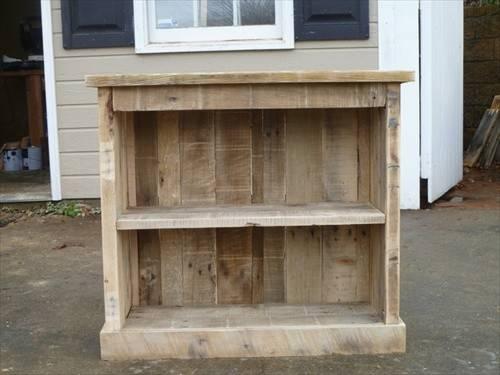 Multi Pallet Nightstand Purpose Used Wood Furniture Ideas