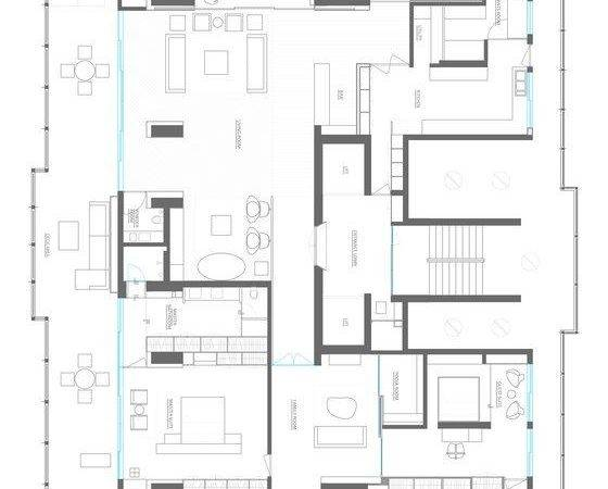 Mumbai Penthouse Apartment Floor Plan Pinterest