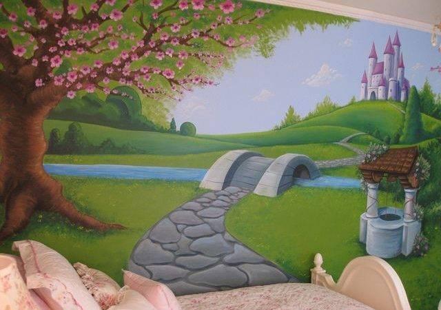Mural Bedroom Wall Girls Painting Ideas Forward