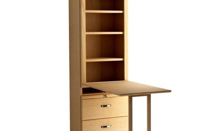 Murphy Bed Bookcase Drop Down Table Bottom Drawers Wall