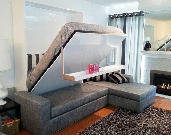 Murphy Bed Couch Cleverly Designed Sofa Float