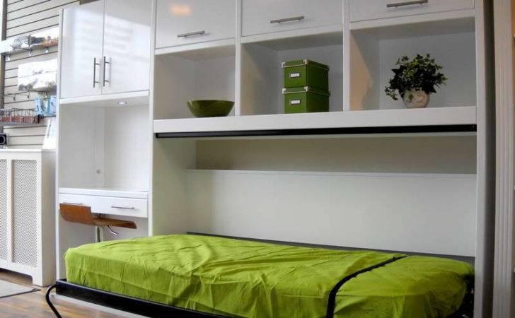 Murphy Bed Desk Combo Rack Design