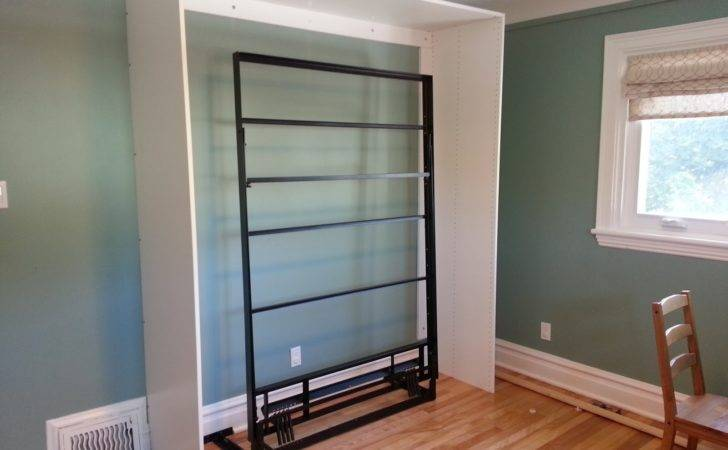 Murphy Bed Frame Installed Can Toggle Bolts Securing