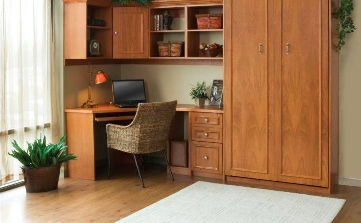 Murphy Bed Home Office Space Kentucky Beds