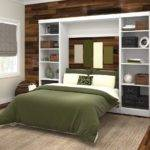 Murphy Bed Kit Wall Storage Unit Bookcase Display Shelves