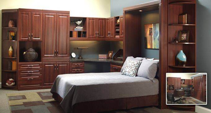 Murphy Bed Office Combo Android Iphone Ipad