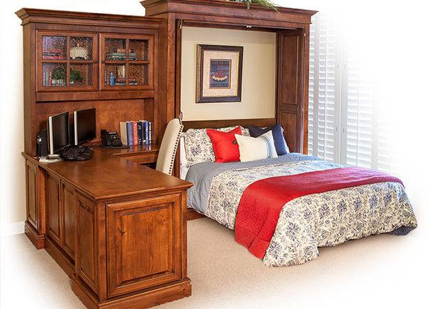 Murphy Bed Office Desk Combo Can Refuse Home