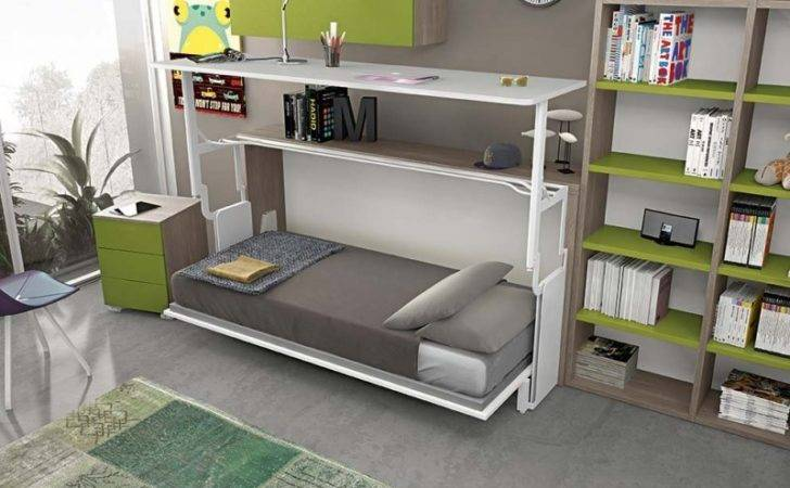 Murphy Bed Office Desk Combo Combination Home