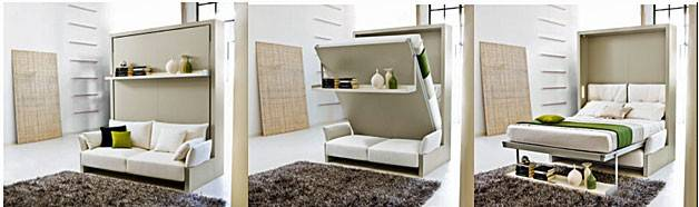 Murphy Bed Over Sofa Smart Wall Beds Couch Combo
