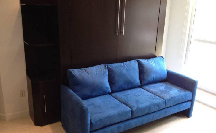 Murphy Bed Over Sofa