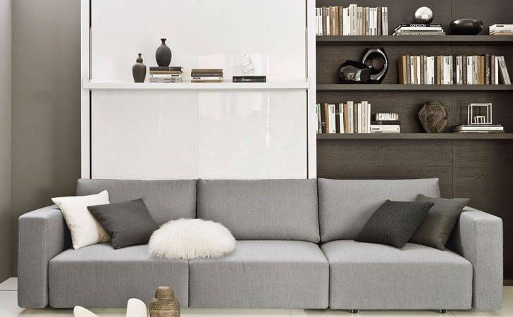 Murphy Bed Sofa Offers Ample Comfort Transformable