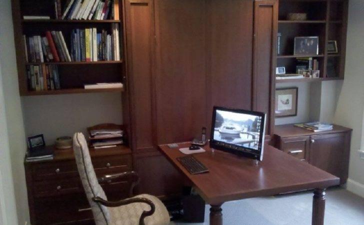 Murphy Bed Wall Desk Combination Plans Ikea