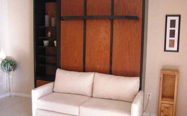 Murphy Bed White Sofa Stroovi