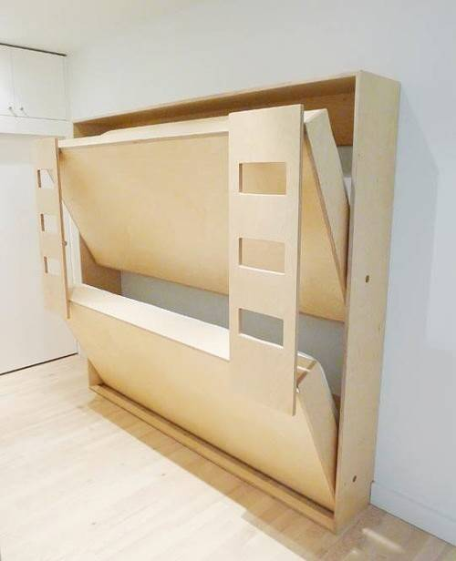 Murphy Bunk Bed Plans Double Beds
