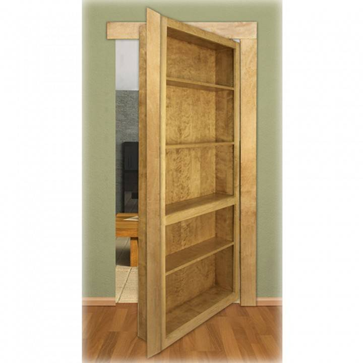 Murphy Door Invisidoor Bookcase Shelving