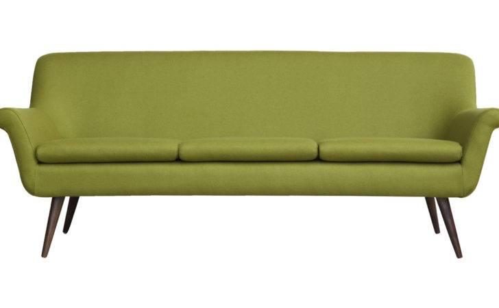 Murphy Midcentury Modern Seat Sofa Gresham Cashmere Ebay
