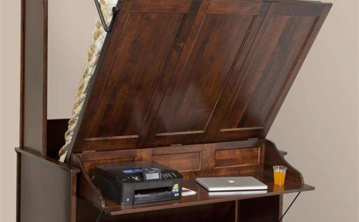 Murphy Wall Bed Desk Amish Dutchcrafters