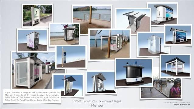 Mustafaoglu Urban Retail Street Furniture Design Selection