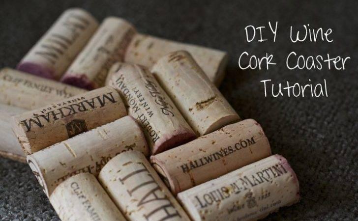 Mylifeasateacup Diy Project Make Wine Cork Coaster