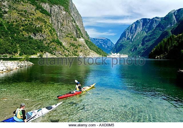 Naeroyfjord Unesco World Heritage Gudvangen Norway