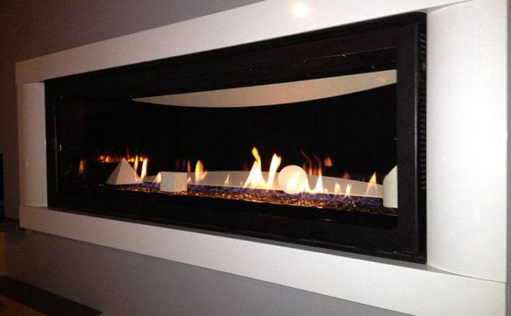 Napoleon Direct Vent Glass Fireplace