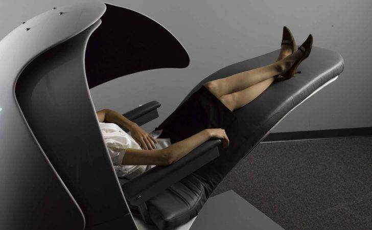 Napping Energypod Cradles Comfort While Sleep Work