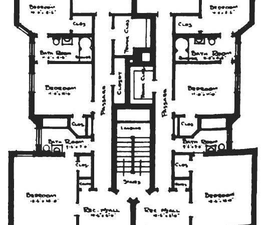 Narrow Apartment Floor Plans