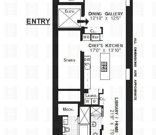 Narrow Bedroom Apartment Floor Plans Lot