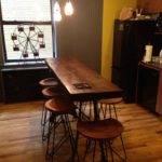 Narrow Kitchen Island Breakfast Bar Home Design Pinterest